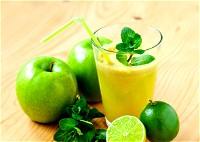 عصير التفاح الأخضر الصحيّ