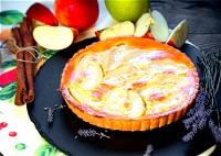طريقة تحضير كعكة التفاح دايت
