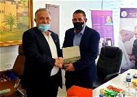 عضو الكنيست يوآب سكيلوفيتش يزور بلدية الناصرة