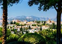 4 مواقع سياحية في غرناطة