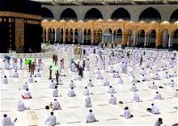 الصلاة في ظل التباعد الاجتماعي.. صور