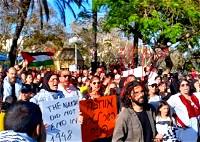 يافا: تظاهرة تضامنية مع القدس وغزة والشيخ جراح