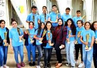 اعدادية محمود درويش بمجد الكروم تكرم طلابها