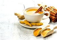 شاي الكركم والقرفة.. طعمه مميّز