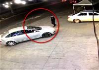 فيديو  سرقة سيارة تُركت مشغّلة في رهط