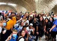 الثانوية العالمية تزور مدينة الناصرة