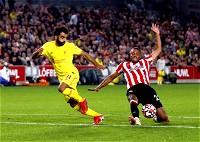 ليفربول يسقط في فخ التعادل أمام برينتفورد في الدوري