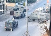 اصابة ضابط وجندي خلال المواجهات