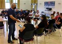 جديدة المكر: إقامة وحدة متطوعين في سلطة الإطفاء
