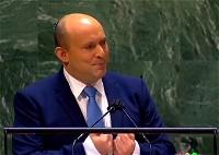 بينيت يلقي خطابًا في الأمم المتحدة
