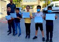 الطيبة| وقفة رافضة لقرار إغلاق المدارس