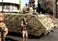 الجيش اللبناني يشدد إجراءاته في بيروت