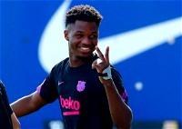 برشلونة يسعى لتجديد عقد أنسو فاتي