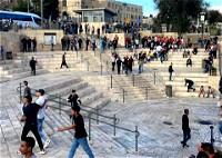 القدس: الهدوء يعود إلى باب العمود