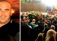 المئات يشيعون جثمان سليم حصارمة ضحية جريمة القتل