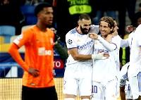 ريال مدريد يسحق شاختار في دوري الأبطال