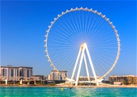 على موعد مع عين دبي.. أضخم عجلة في العالم