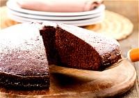 كعكة الشوكولاطة الاسفنجية اللذيذة