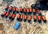 يركا: ضبط قنابل وذخيرة واعتقال مشتبه