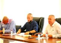 وزير الثقافة والرياضة بزيارة عمل لبلدية سخنين